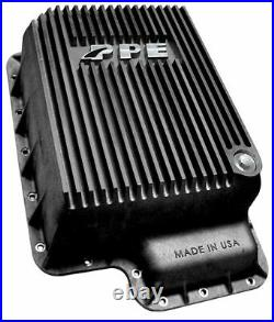 PPE Black Deep Transmission Pan For Ford 5R110 Ford 2003-2007 6.0L 328051020