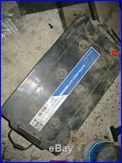 Pair 12v 220ah 1150a Mercedes Super Heavy Duty Battery
