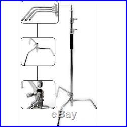 Pro Super Heavy Duty 300cm SOLID C-Stand W127CM Boom Arm arm grip head Sandbag