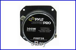 Pyle Pdbt28 1'' Heavy Duty Titanium Super Tweeter 300w Speaker Each