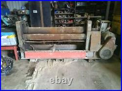 Pyramid plate rollers super heavy duty