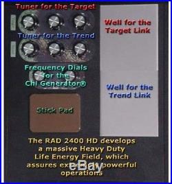 RAD 2400 HDSuper Heavy-Duty Power Radionics Machine with Built-In Chi Generator