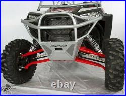 RT Pro RTP1001K Black Winch Mount Baja Front Bumper For Polaris 900 & 1000 XP