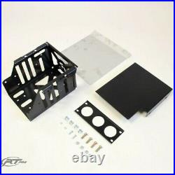 RT Pro RTP5802127 Black Powder Coat Dual Battery Box For Can Am Maverick