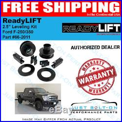 ReadyLift 2.5 Leveling Kit 2011-2016 Ford F-250 F350 Super Duty 4WD 66-2011