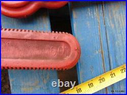Ridgid Super Eight Compound Leverage Chain Pipe Wrench 8 Pipe Cap. Heavy Duty