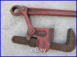 Ridgid Super Six 6-Inch Heavy-Duty Compound Leverage Pipe Wrench Industrial 48