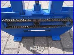 Roll Bender Tube Pipe Bender Ring Roller Bending Machine Super Heavy Duty New