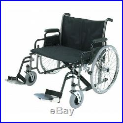 Roma Medical 1473x Extra Wide Super Heavy Duty Self-Propelled Wheelchair
