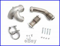 Rudy's 304 SS Heavy Duty V-Band Up Pipe Kit For 2003-2007 Ford 6.0L Powerstroke