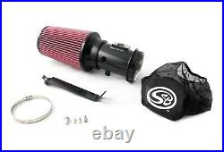 Rudy's Black Cold Air Intake Oiled S&B Filter & Wrap For 2008-2010 Ford 6.4