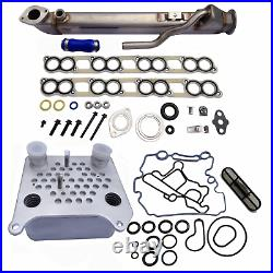 Rudy's EGR & High Flow Oil Cooler Combo For 2004.5-2007 Ford 6.0L Powerstroke