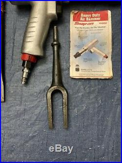 SNAP-ON Tool PH3050 SUPER-DUTY Air HAMMER with 11 HEAVY DUTY BITS