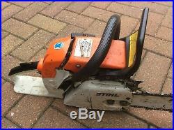 STIHL 028 AV SUPER CHAINSAW ELECTRONIC QUICK STOP Heavy Duty Stihl Chainsaw