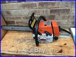 STIHL 034 AV SUPER CHAINSAW ELECTRONIC QUICK STOP Heavy Duty Stihl Chainsaw
