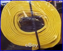 SUPER DUTY Tow Recovery Strap 6 X 30' 82,000 Lbs Break Strength Heavy USA Rope