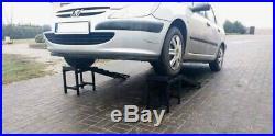 SUPER HEAVY DUTY 3,5 TONNE, 34 CM HIGH, 2X CAR RAMPS WITH EXTENSIONS CAR 4x4 VAN