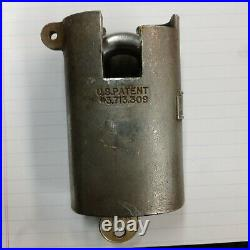 SUPER RARE- Sargent and Greenleaf US Model Heavy Duty Padlock. Comes with 1 Key