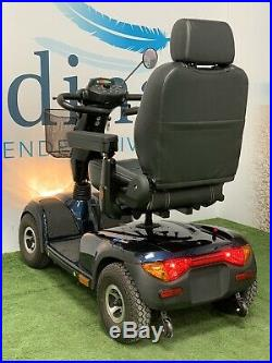 SUPER SUMMER SALE 2018 Invacare Comet, Blue, Heavy Duty Mobility Scooter