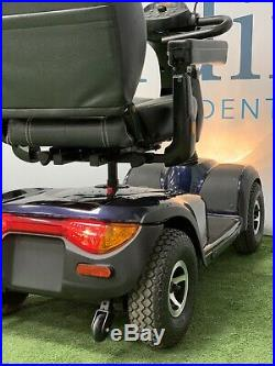 SUPER SUMMER SALE Invacare Comet, Blue, Heavy Duty Mobility Scooter