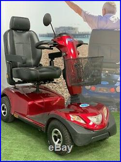 SUPER SUMMER SALE Invacare Comet, Red, Heavy Duty Mobility Scooter