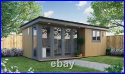 Self Build Super SIP Insulated Garden Office DIY kit, Garden Room, Studio office