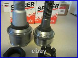Set of 4 Ford Super Duty 4x4 Ball Joints Dana 50 / 60 upper and lower Spicer