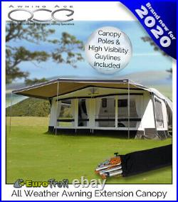 Size 13 (950-975cm) Universal Awning Extension Canopy Weather Tex Heavy Duty