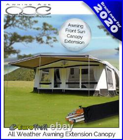 Size 14 (975-1000cm) Awning Universal Extension Canopy Weather Tex Heavy Duty