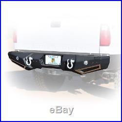 Smittybilt M1 Rear Bumper 99-16 Ford F250 F350 Super Duty Truck 614830 Black