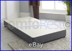 Solid Low 8 Inches Reinforced Divan Base, heavy duty 3ft/4ft/4ft6/5ft/6ft, UK