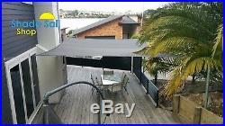 Square GREY 8m X 8m Shade Sail Sun Heavy Duty 280GSM GREY 8X8M Super strong