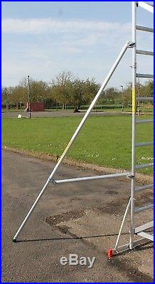 Super DIY Up to 7.2m Aluminium Scaffold Tower 1m frames One man Tower