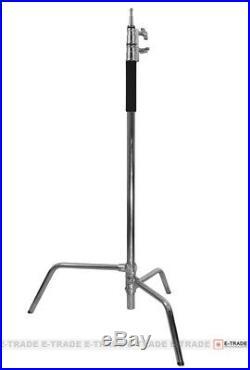 Super Heavy /3m/ Duty Double Riser Detachable turtle base C-Stand Boom Arm