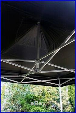 Super Heavy Duty Aluminium Pop-up Hex Frame Commercial Market Stall Gazebo Tent