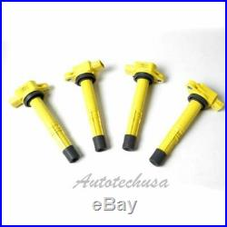 Super Heavy Duty Blaster Ignition Coil Yellow For Acura Honda IC425 B289y4
