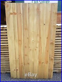 Super Heavy Duty Fully Framed Treated Garden Side Gate Including 18 Hinge Kit