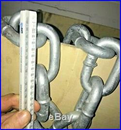 Super Heavy Duty Galvanised Chain