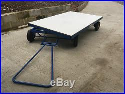 Super Heavy Duty Judo Mat Trolly Universal Services New But Has Marks/ Scuffs