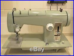 Super Heavy Duty Kenmore 158.650 Sewing Machine Loaded Completely Serviced