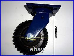 Super Heavy Duty Motorised CARAVAN TRAILER BOAT Mover 10000LB WINCH WHEELS KIT