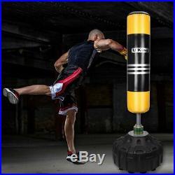 Super Heavy Duty Punch Bag Free Standing Boxing MMA Kick Martial Art Training