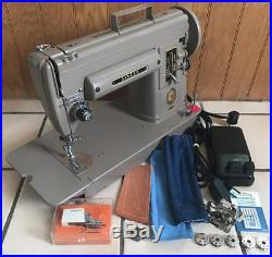 Super Heavy-Duty Singer 301 Gear-Driven Sewing Machine LOADED & SERVICED