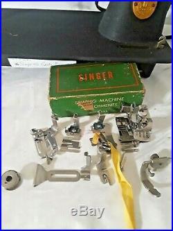 Super Heavy-Duty Singer 66-18 Godzilla Sewing Machine SERVICED! (N172a)s2a