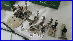Super Heavy-Duty Singer 99 Sewing Machine LOADED & SERVICED! (N149a)s2a