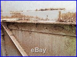 Super Heavy-duty metal Yard / Farm / Security Site Gate Used