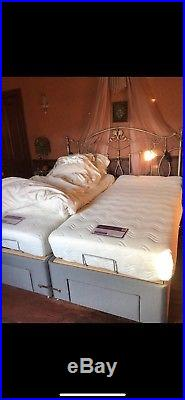 Super King Adjustable Heavy Duty Electric Bed 6ft Dual Single