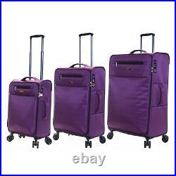 Super Light Extra Large XL Medium Cabin Carry-On Hand Luggage Suitcase Bag Set