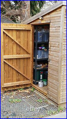 Super Quality Shed 10ft x 6ft strong, tannalised & onduline, only 2.5 years old