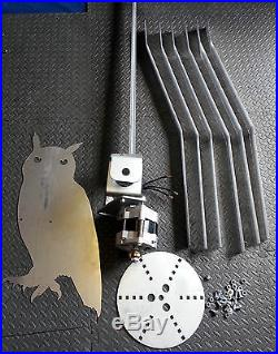 Super heavy duty Wind Turbine Night Owl Lower wind New design 12 24 or 48v